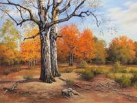 Kerstin-Birk-Landschaft-Herbst-Natur-Wald-Neuzeit-Realismus