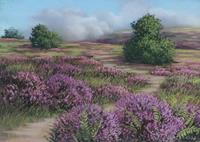 Kerstin-Birk-Landschaft-Sommer-Landschaft-Berge-Neuzeit-Realismus