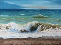 Kerstin-Birk-Landschaft-See-Meer-Landschaft-Sommer-Neuzeit-Realismus