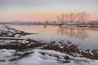 K. Birk, Kalter Winterabend