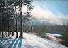 K. Birk, Kiesgrube im Schnee