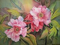 Kerstin-Birk-Pflanzen-Blumen-Diverse-Pflanzen-Neuzeit-Realismus