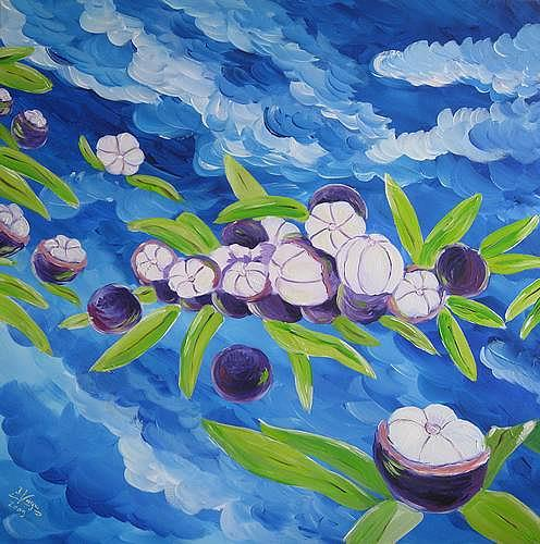 Irene Varga, Heavenly Fruits or Clouds of Hope, Pflanzen: Früchte