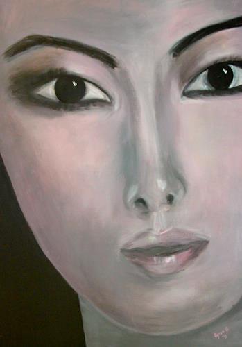 Agnes Abplanalp, Glow, Menschen: Porträt, Menschen: Frau, Gegenwartskunst