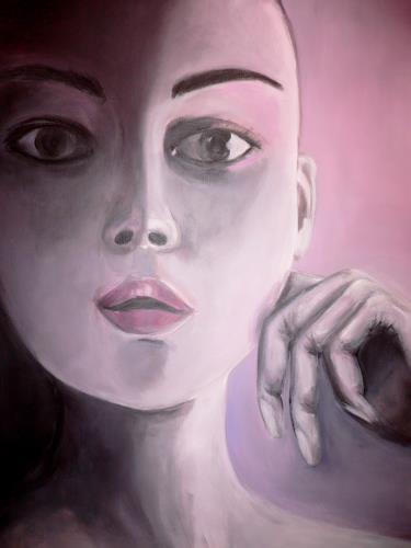 Agnes Abplanalp, Desire, Menschen: Gesichter, Menschen: Frau, Gegenwartskunst, Expressionismus