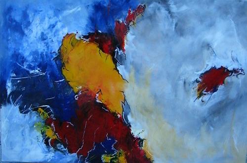 Silva Bender, Abseits, Abstraktes, Abstrakte Kunst, Expressionismus