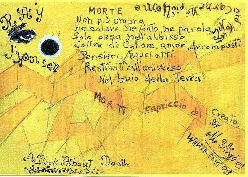 Virgy, A BOOK ABOUT DEATH, Poesie, Tod/Krankheit, Arte Cifra