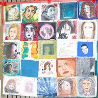 Virgy-Menschen-Gesichter-Menschen-Frau-Gegenwartskunst--New-Image-Painting