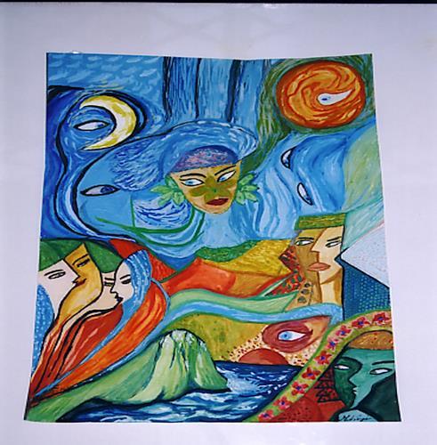 Virgy, Glances of soul, Abstraktes, Abstraktes, Postmoderne