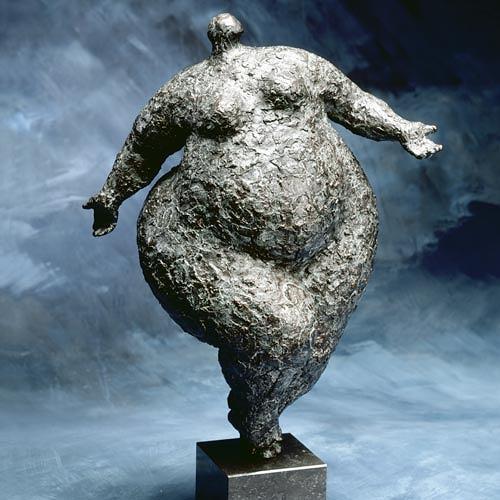 wim heesakkers, BALANCE 21, Menschen: Frau, Gefühle: Freude, expressiver Realismus, Abstrakter Expressionismus