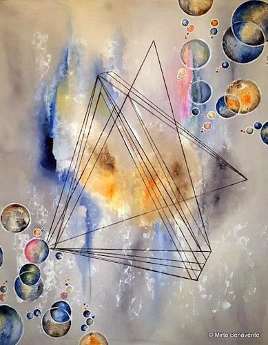 Mirta Benavente, Geometria 15, Abstraktes, Abstrakte Kunst