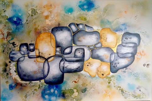 Mirta Benavente, Codigo de enlaces humanos, Architektur, Abstrakte Kunst