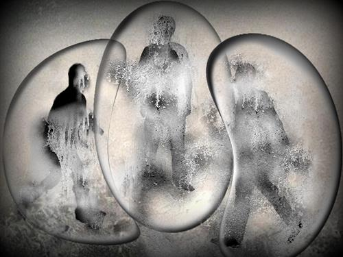 Mirta Benavente, Humanidad 2020, Abstraktes, Konzeptkunst, Abstrakter Expressionismus