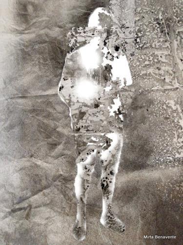 Mirta Benavente, Seres 2020, Menschen, Gegenwartskunst, Abstrakter Expressionismus