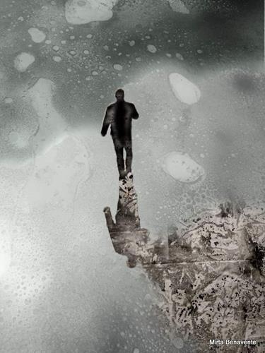 Mirta Benavente, Humanidad 2020 - 4, Menschen, Abstraktes, Konzeptkunst, Expressionismus