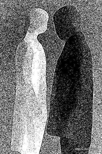 Mirta Benavente, Seres Contemporáneos, Menschen, Konzeptkunst, Abstrakter Expressionismus