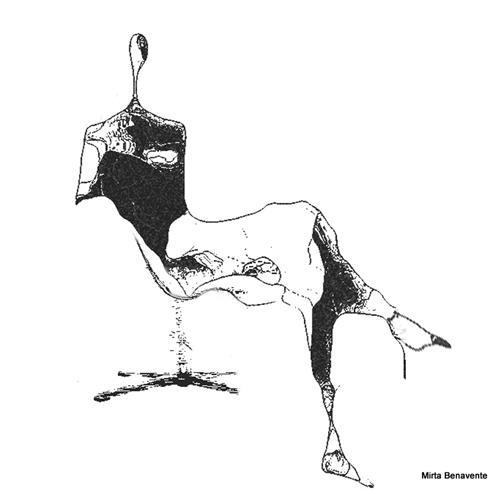 Mirta Benavente, Seres Contemporáneos 21, Menschen, Abstraktes, Gegenwartskunst, Abstrakter Expressionismus
