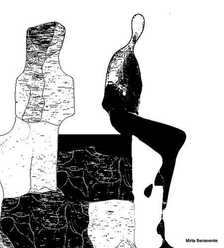 Mirta Benavente, Seres Contemporáneos 20, Menschen, Gesellschaft, Gegenwartskunst