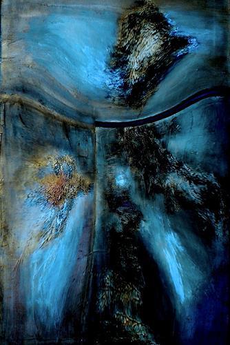 Mirta Benavente, ST, Abstraktes, Abstrakte Kunst, Expressionismus