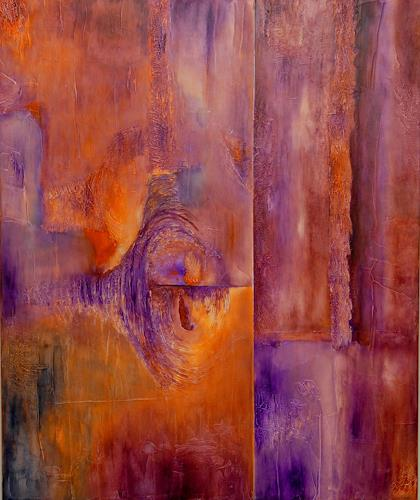 Mirta Benavente, Sin titulo2, Abstraktes, Abstraktes, Abstrakter Expressionismus