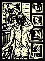 Guenter-Limburg-Akt-Erotik-Akt-Frau-Gegenwartskunst-Neo-Expressionismus