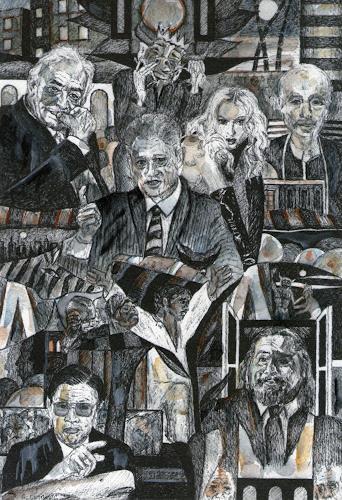 Günter Limburg, no title, Gesellschaft, Geschichte, Pop-Art