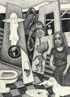 Guenter-Limburg-Menschen-Frau-Gegenwartskunst-Postsurrealismus