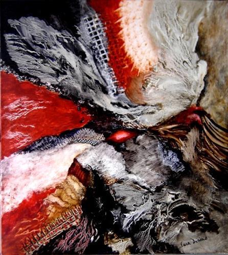 Sara Diciero, Pasión volcánica, Abstraktes, Landschaft: Sommer, Abstrakter Expressionismus