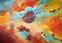 Sara-Diciero-Abstraktes-Natur-Wasser-Moderne-Expressionismus-Abstrakter-Expressionismus