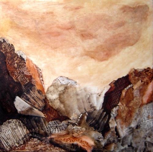 Sara Diciero, Plenitud, Abstraktes, Landschaft: Berge, Abstrakte Kunst