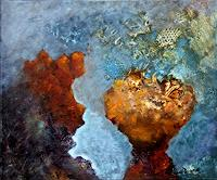Sara-Diciero-Abstraktes-Landschaft-See-Meer-Moderne-Expressionismus-Abstrakter-Expressionismus