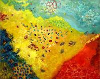 Sara-Diciero-Landschaft-Strand-Natur-Wasser-Moderne-Expressionismus-Abstrakter-Expressionismus
