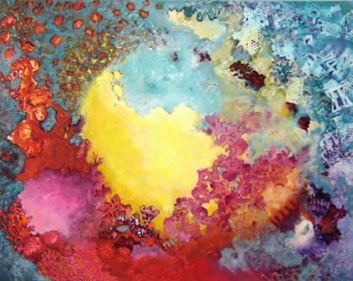 Sara Diciero, Amores de estudiantes, Abstraktes, Poesie, Abstrakter Expressionismus, Expressionismus