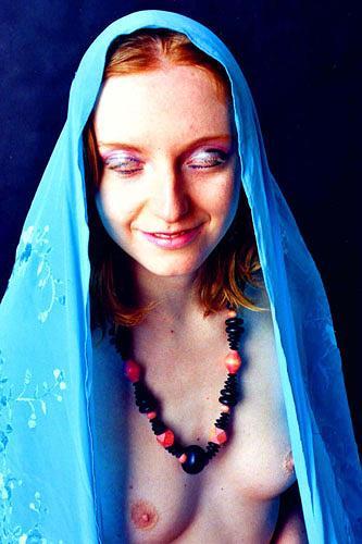 Durlabh Singh, Yoga, Menschen: Frau, Fashion, Gegenwartskunst, Abstrakter Expressionismus