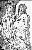 Durlabh-Singh-Menschen-Frau-Diverse-Romantik-Gegenwartskunst--Gegenwartskunst-