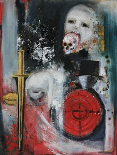 Andrea Finck, Albtraum, Fantasie, Gegenwartskunst