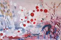 Andrea-Finck-Pflanzen-Blumen-Fantasie-Gegenwartskunst--Gegenwartskunst-