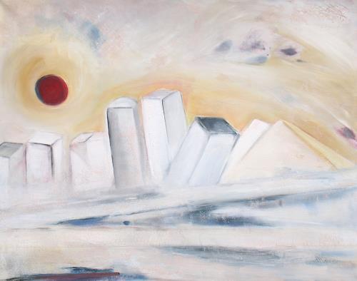 Andrea Finck, Frozen desert city, Architektur, Gegenwartskunst