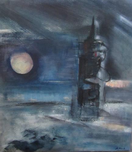 Andrea Finck, Leuchtturm, Natur, Abstrakte Kunst