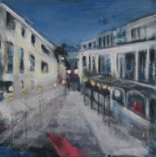 Andrea Finck, Sunset Boulevard, Architektur, Bauten: Haus, Impressionismus