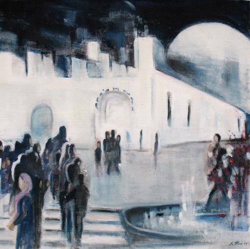 Andrea Finck, Arabic springtime, Abstraktes, Gesellschaft, Gegenwartskunst