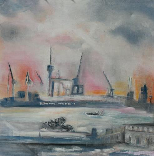 Andrea Finck, Hamburg, Industrie, Architektur, Gegenwartskunst