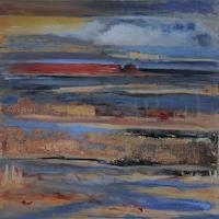 Andrea-Finck-Landschaft-See-Meer-Natur-Wasser-Moderne-expressiver-Realismus
