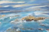 Andrea-Finck-Landschaft-See-Meer-Landschaft-Sommer-Gegenwartskunst-Gegenwartskunst