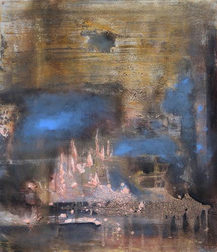Andrea Finck, holy things, Fantasie, Poesie, Gegenwartskunst, Expressionismus