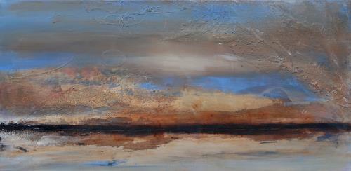 Andrea Finck, Fata Morgana II, Diverse Landschaften, Diverses, Gegenwartskunst