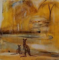 Andrea-Finck-Landschaft-Sommer-Tiere-Land-Gegenwartskunst-Gegenwartskunst