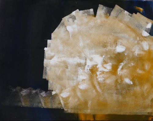 Andrea Finck, Virus, Abstraktes, Skurril, Abstrakte Kunst