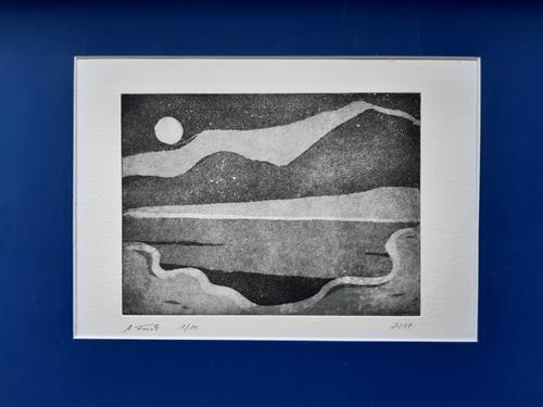 Andrea Finck, ohne Titel, Landschaft, Abstraktes, Abstrakte Kunst