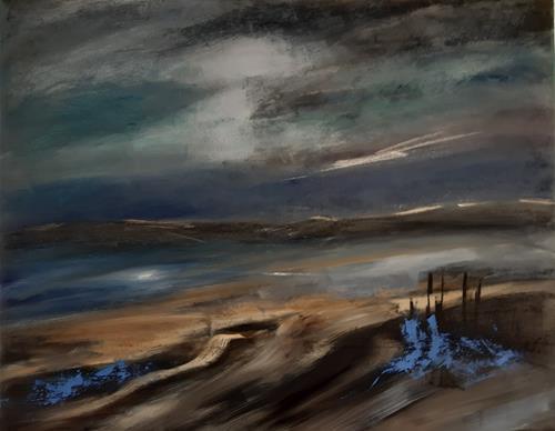 Andrea Finck, Nordsee, Landschaft, Natur, Gegenwartskunst